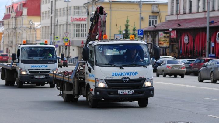 Водителям запретят парковаться на двух участках проспекта Ленина
