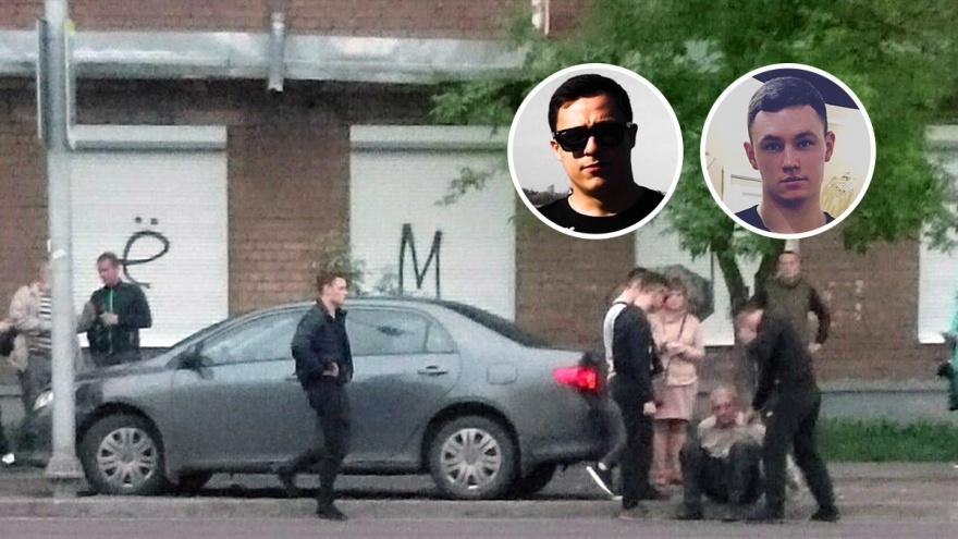 Запрыгнули в «Тойоту» на ходу: два молодых ярославца, рискуя жизнью, увели машину лихача от толпы