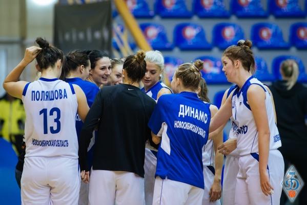 Игра проходила в спорткомплексе«Север» в Новосибирске