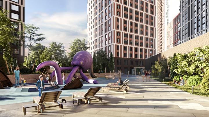 Квартиры с террасами и видом на Центральный парк: у ЦПКиО построят еще один жилой небоскреб