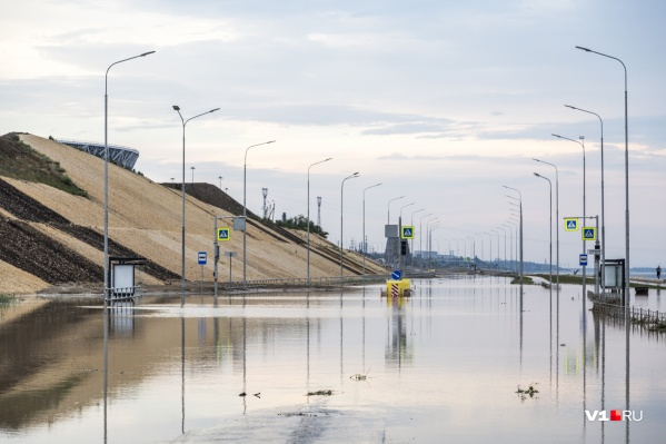 Московский арбитраж решил: в размытом склоне «Волгоград Арены» в последний день ЧМ-2018 виноваты не аномальные дожди
