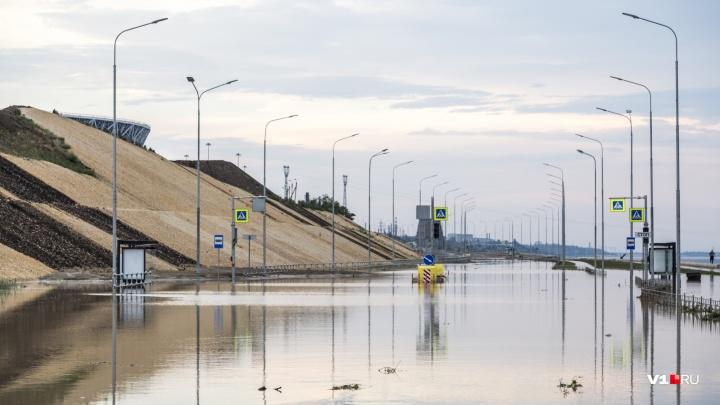 Виноват не аномальный дождь: застройщика стадиона «Волгоград Арена» оштрафовали за размываемый склон