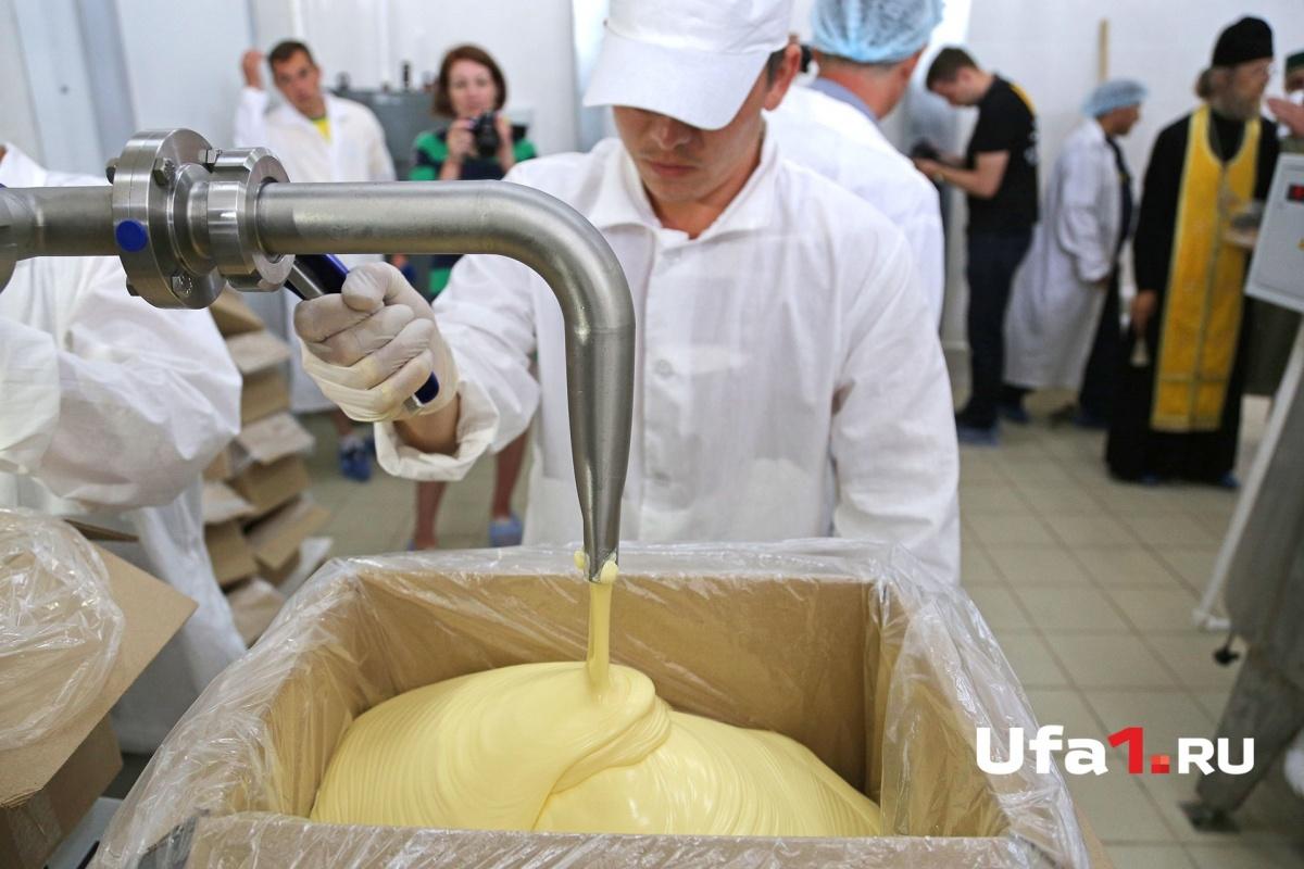 Все как на заводе: везде чистота и стерильность