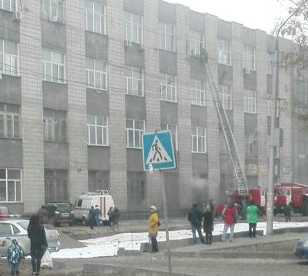 Пожар потушили в 17:28