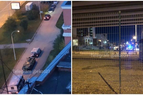 Происходящее у Дворца правосудия напугало жителей Екатеринбурга