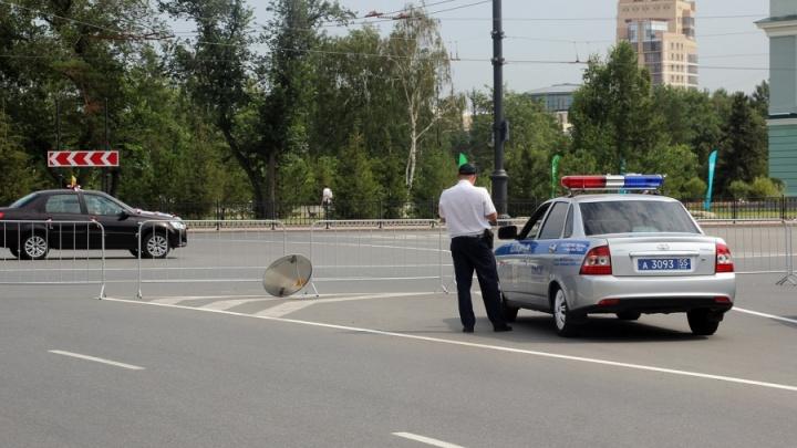 Центр Омска перекрыли на четыре дня из-за праздника нефтяников