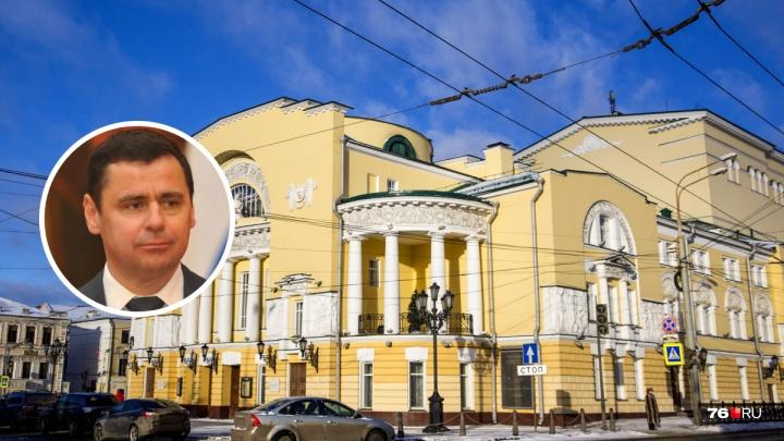 «С нами не обсуждали»: губернатор — об объединении Волковского театра с Александринкой