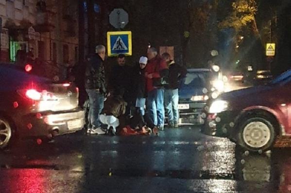 Авария в центре Ярославля