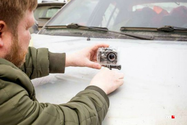 Снятые ролики автомобилист предлагает раскидывать по популярным пабликам