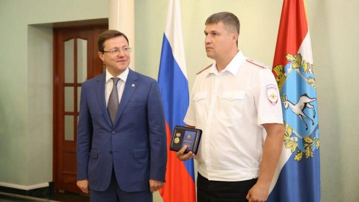 В Самаре наградили лучших полицейских, которые несли службу во время ЧМ