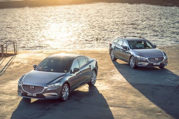 На рынок выходит обновленная Mazda6, но универсал по-прежнему недоступен
