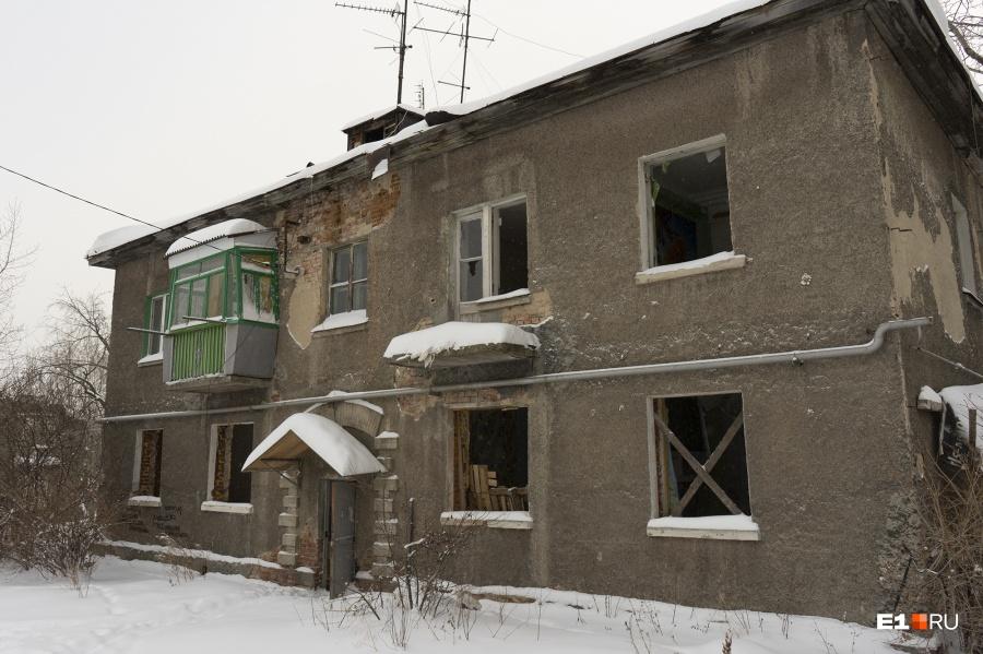 Единственный жилой балкон видно издалека