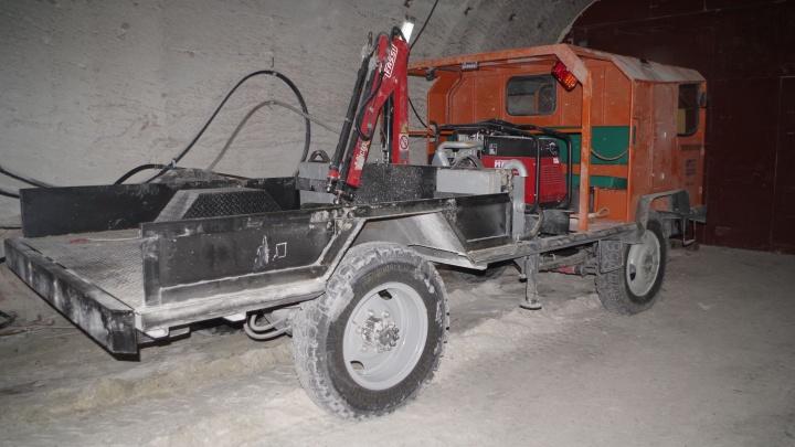 В рудник Гремячинского ГОКа запустили «Крота»