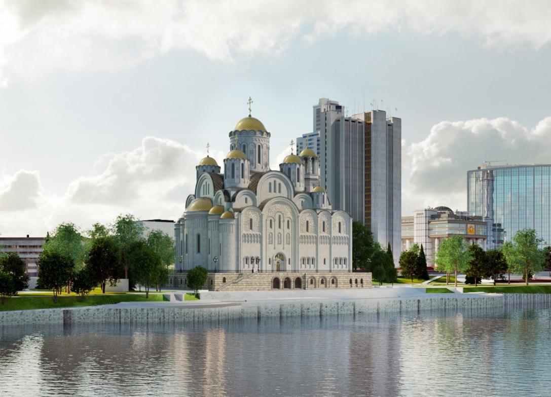 С ВИП-комнатой для владыки и собственной котельной: каким будет собор святой Екатерины у Драмтеатра