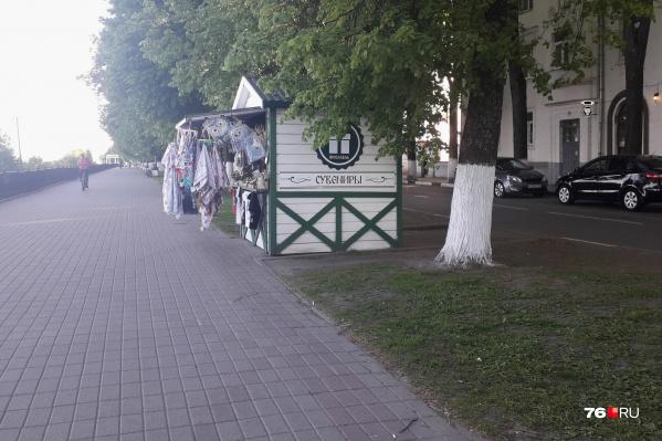 Кроме деревьев, урбанист не увидел никакого толкового благоустройства Волжской набережной в Ярославле