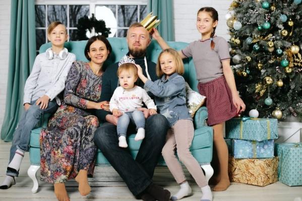 Многодетная семья Васильевых