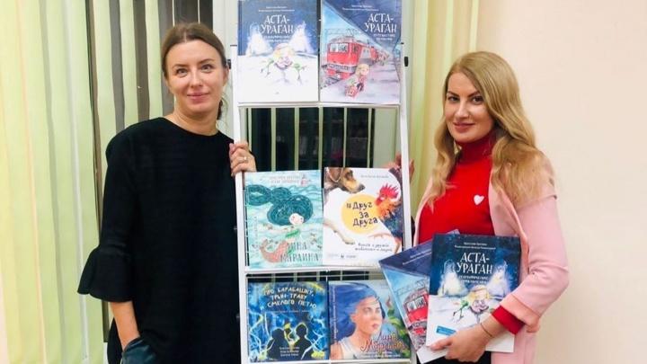 Писательницу из Петербурга наградили за книгу с рассказом об омской утке, воспитанной шарпеями