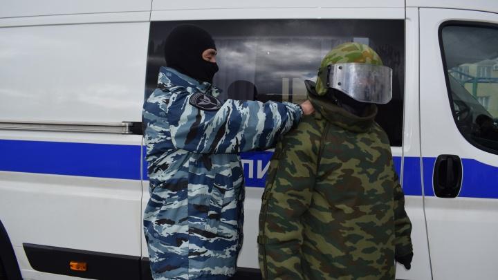 Взрывчатка в баке: в Стерлитамаке дворник нашел гранату