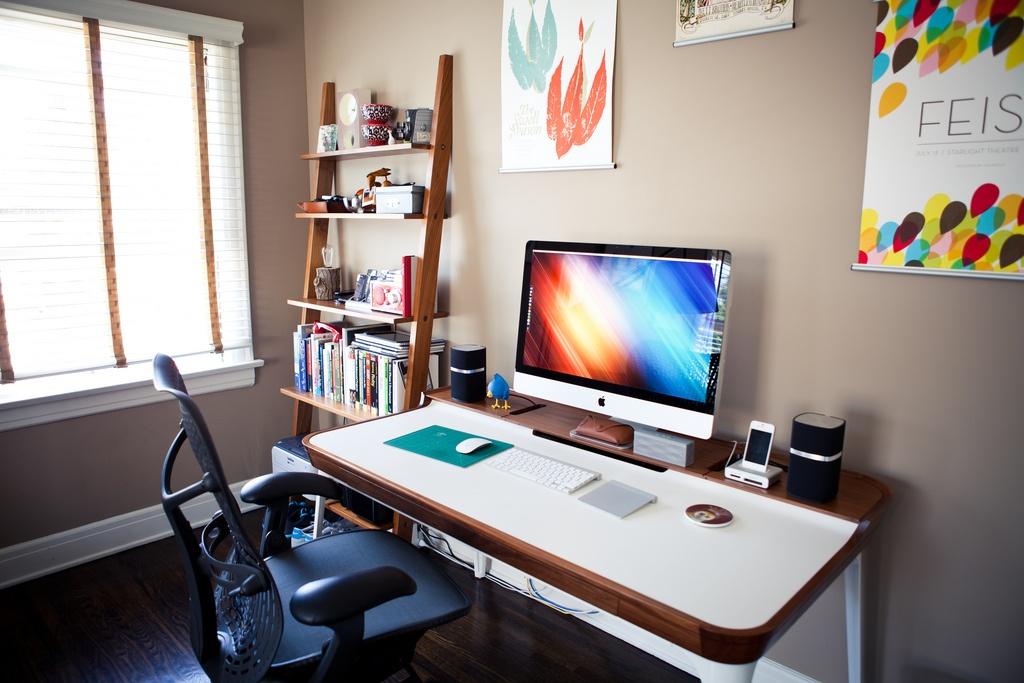 Мой дом — мой офис: как обустроить рабочее место дома