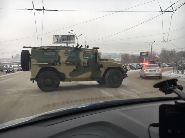 Броневик используется во всех родах войск России