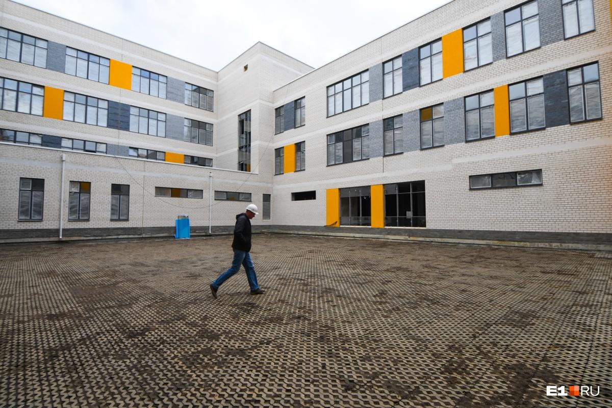 Здание вместит 1000 детей
