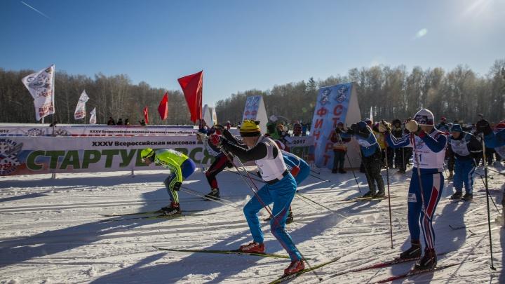 Лыжники отменили гонку из-за сильных морозов