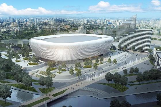 Внешний облик арены предполагает три варианта —ни один еще не вычеркнут
