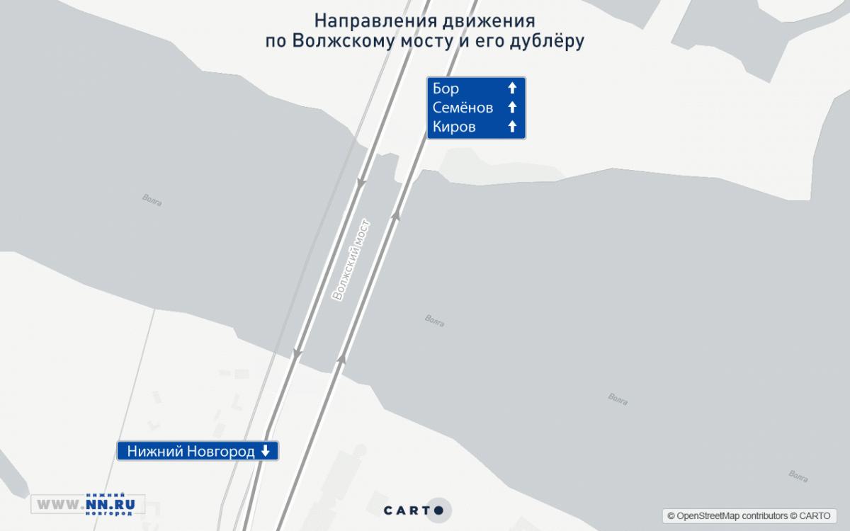 Новый мост через Волгу открыли вНижегородской области