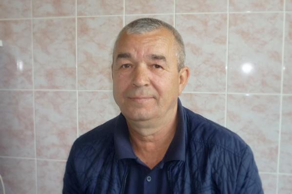 Сергей Заровный признался, что спасать человека во время пожара ему пришлось впервые