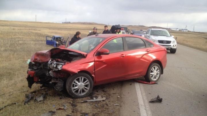 Авария в Башкирии унесла жизнь двух девушек
