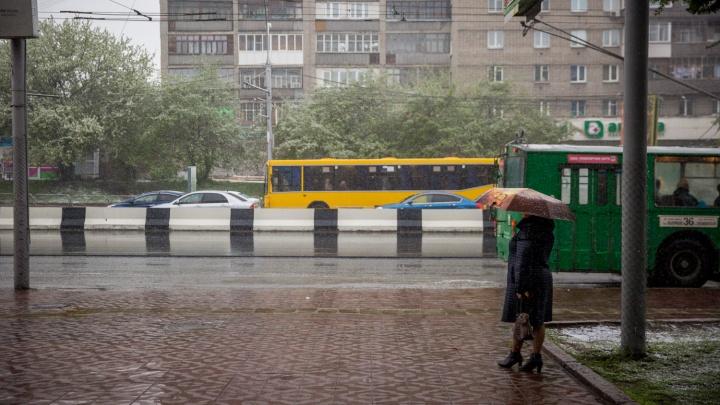 Готовьте зимние вещи: циклон принесёт в Новосибирск мокрый снег