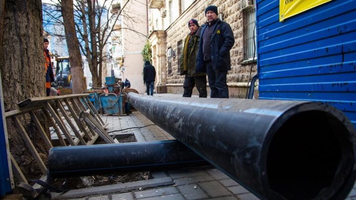 От Горбачева до Олимпийского: в Ленгородке появится новая канализация