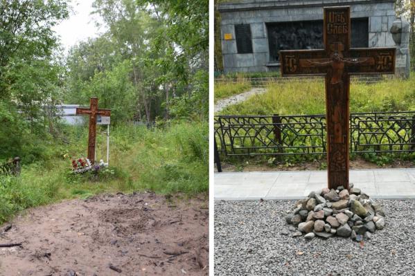 За два с половиной года неравнодушные Архангелогородцы изменили могилу репрессированных до неузнаваемости