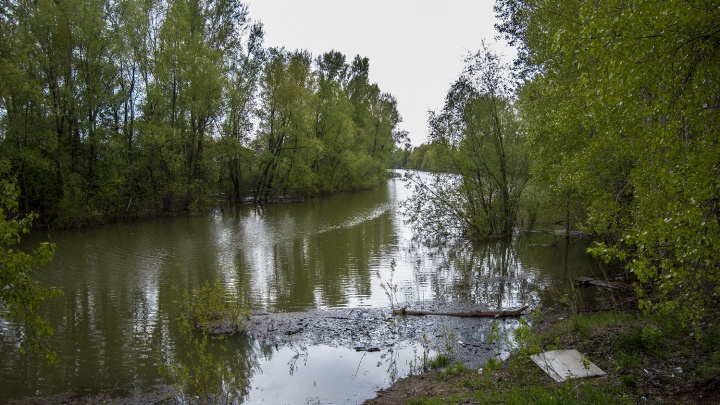 В Советском районе в реке погиб мужчина