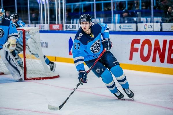 Андрей Ермаков вернулся в«Сибирь» в этом году