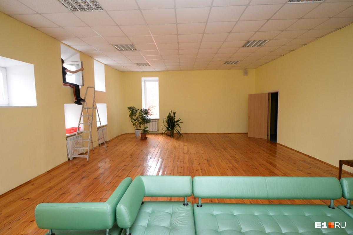 А также помещения для игр и отдыха