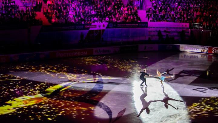 В Красноярске определили чемпиона по фигурному катанию среди мужчин