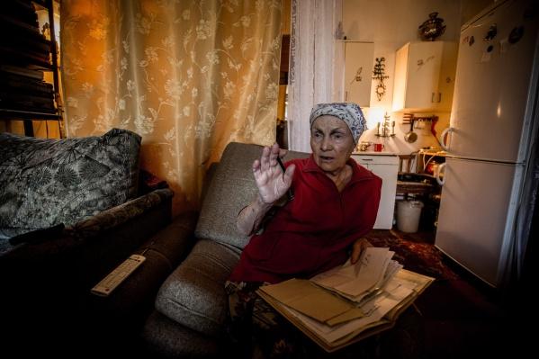 Галину Терентьевну хотели выселить из дома сегодня, 18 октября