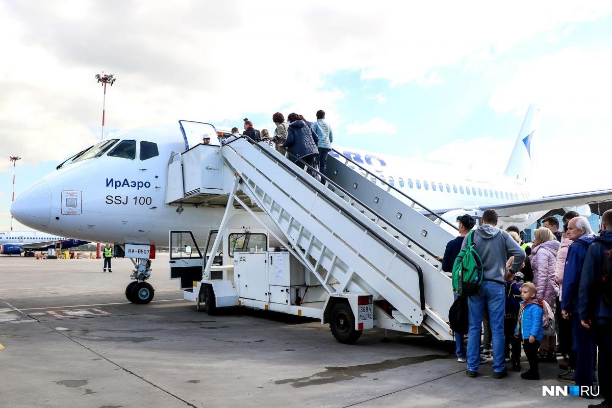 Нижегородцы смогут летать до Екатеринбурга и Самары на Sukhoi Superjet по льготным тарифам