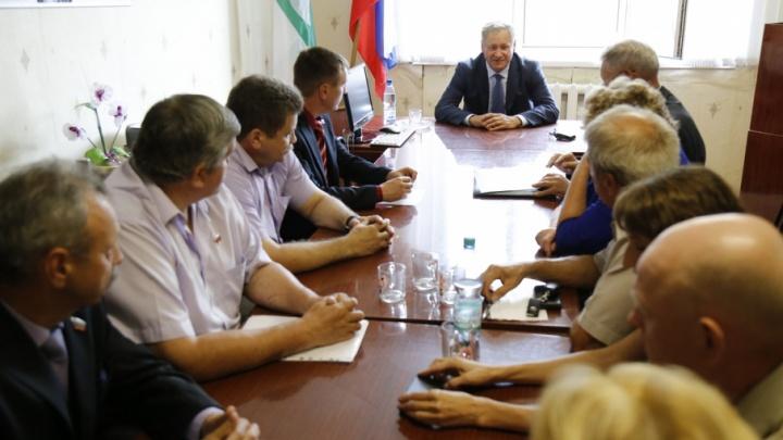 Губернатор Курганской области раскритиковал участников «войны» в Катайском районе