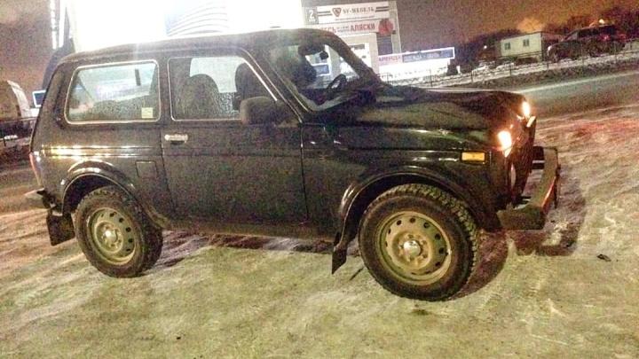 В Уфе водитель на «Ниве» сбил двух пешеходов