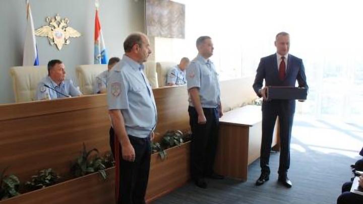 Начальника полиции Самары проводили на пенсию