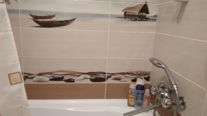 «Сезон ремонта»: ванная комната в морском стиле