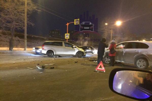 Девушка скончалась на месте аварии