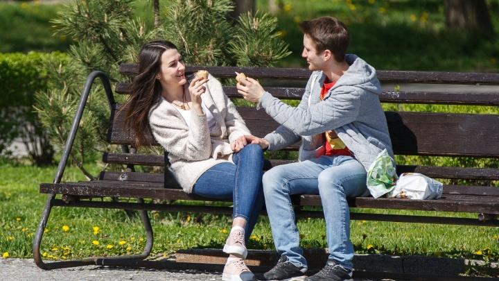 В Волгограде ожидается +22°С и сильный ветер