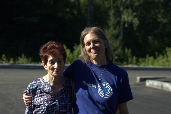 Героиня одной из историй и волонтер из Германии Катрин