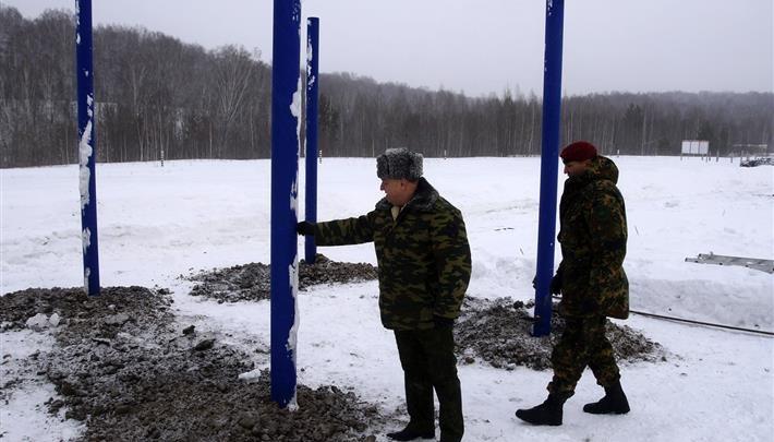 Первая за Уралом: под Новосибирском начали строить базу для спецназа