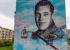 Уральский художник нарисовал летчика размером с пятиэтажку: показываем на видео, как это было