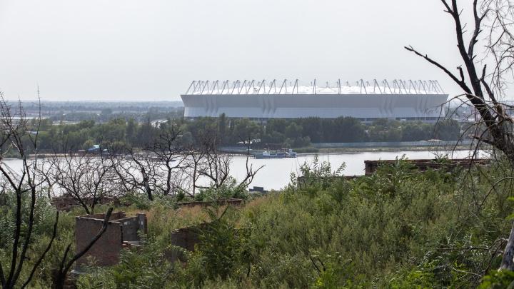 Два года спустя: как сейчас выглядит место крупнейшего пожара в Ростове