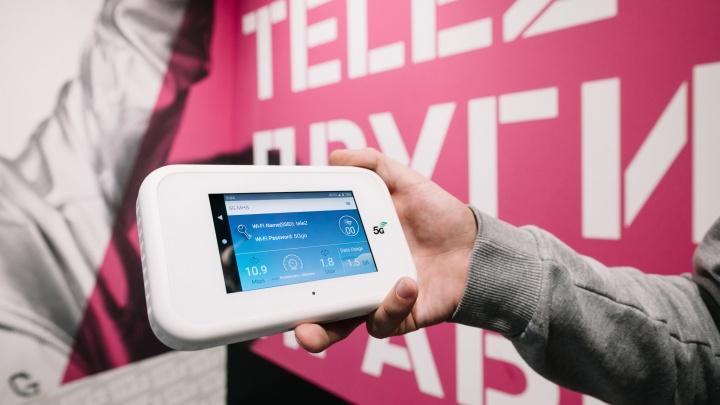 Tele2 получила скорость 2,1 Гбит/c в сети 5G на устройстве абонента